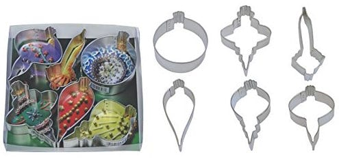 ornament cookie cutters for honey and spice cookies