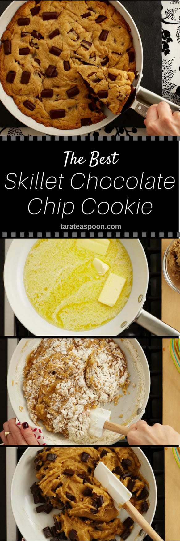 Make the Best Skillet Chocolate Chip Cookie