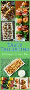 15 tailgating kabobs long pin
