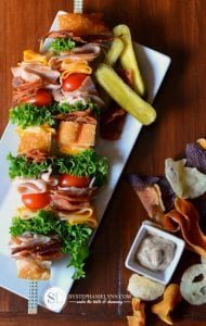 Tailgate Kabobs: Classic Club Sandwich