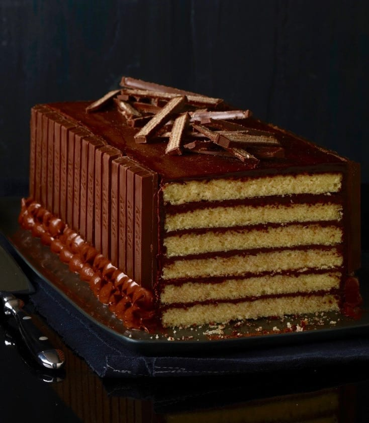 Recipe Of Kit Kat Cake