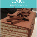 Kit Kat Cake Pinterest Pin