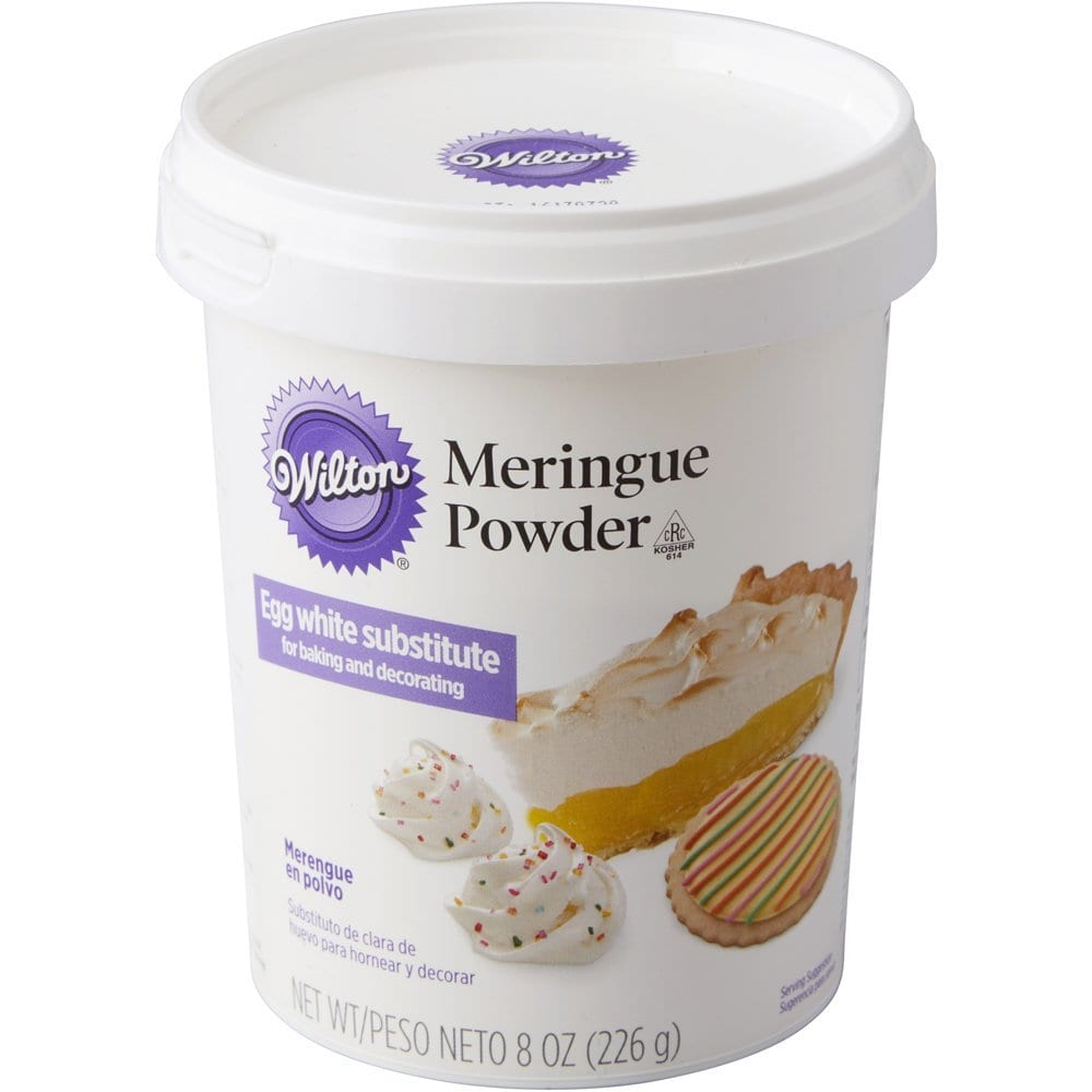 container of Wilton meringue powder