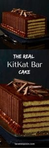 kit kat bar cake pin
