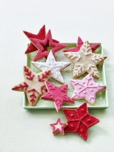 Star cookies by Tara