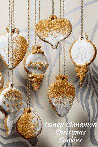 Honey Cinnamon Cookies for Christmas