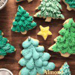 Almond Ginger Cookies with Cream Cheese Frosting
