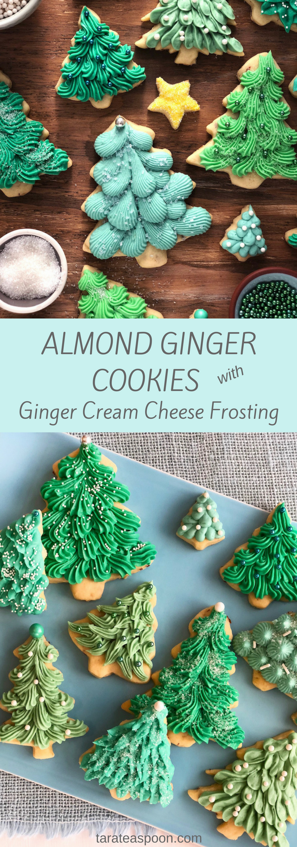 Almond Ginger Cookies pin