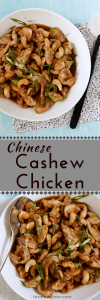 Cashew Chicken at Home Pin