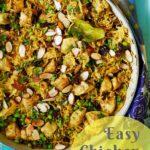 Easy Chicken Biryani Pin