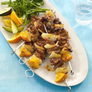 Orange and Chipotle Pork Kabobs recipe image