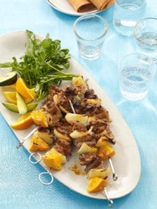 Orange and Chipotle Pork Kabobs recipe image