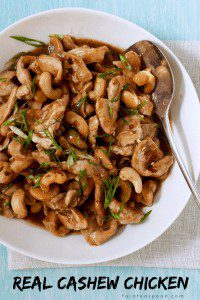You can make real cashew chicken at home