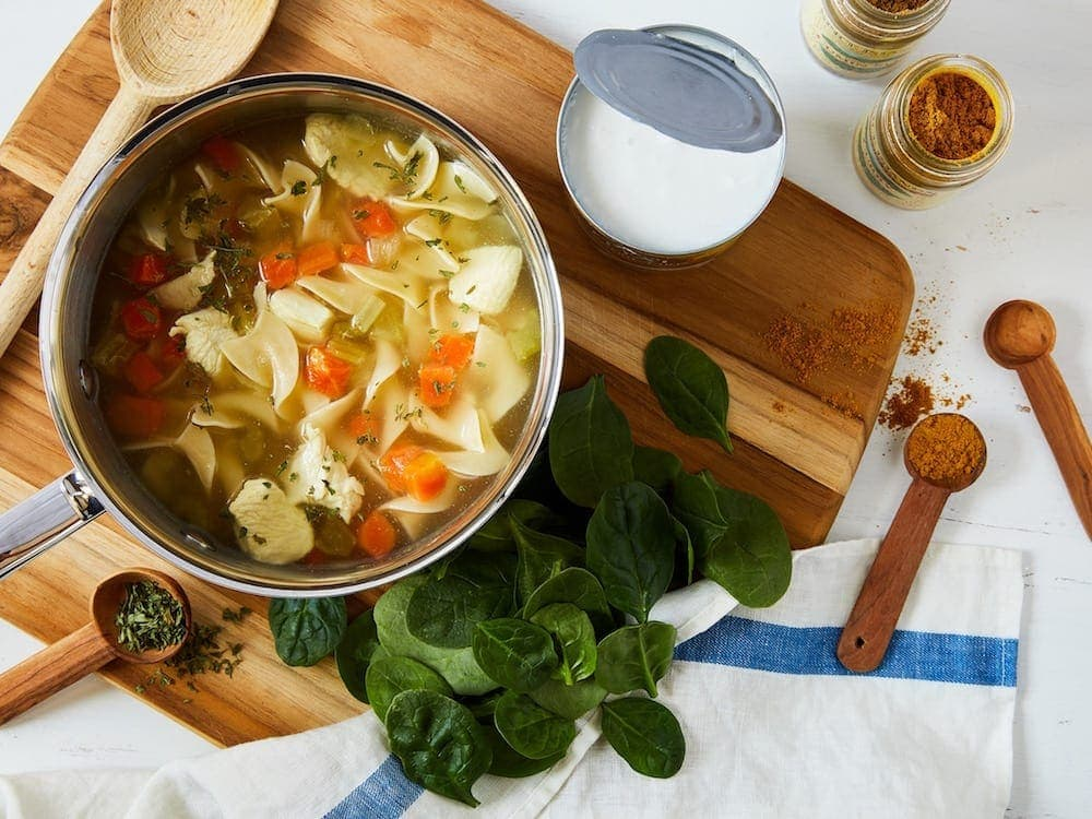 Chicken Soup for 12 Ways to use herbs and spices