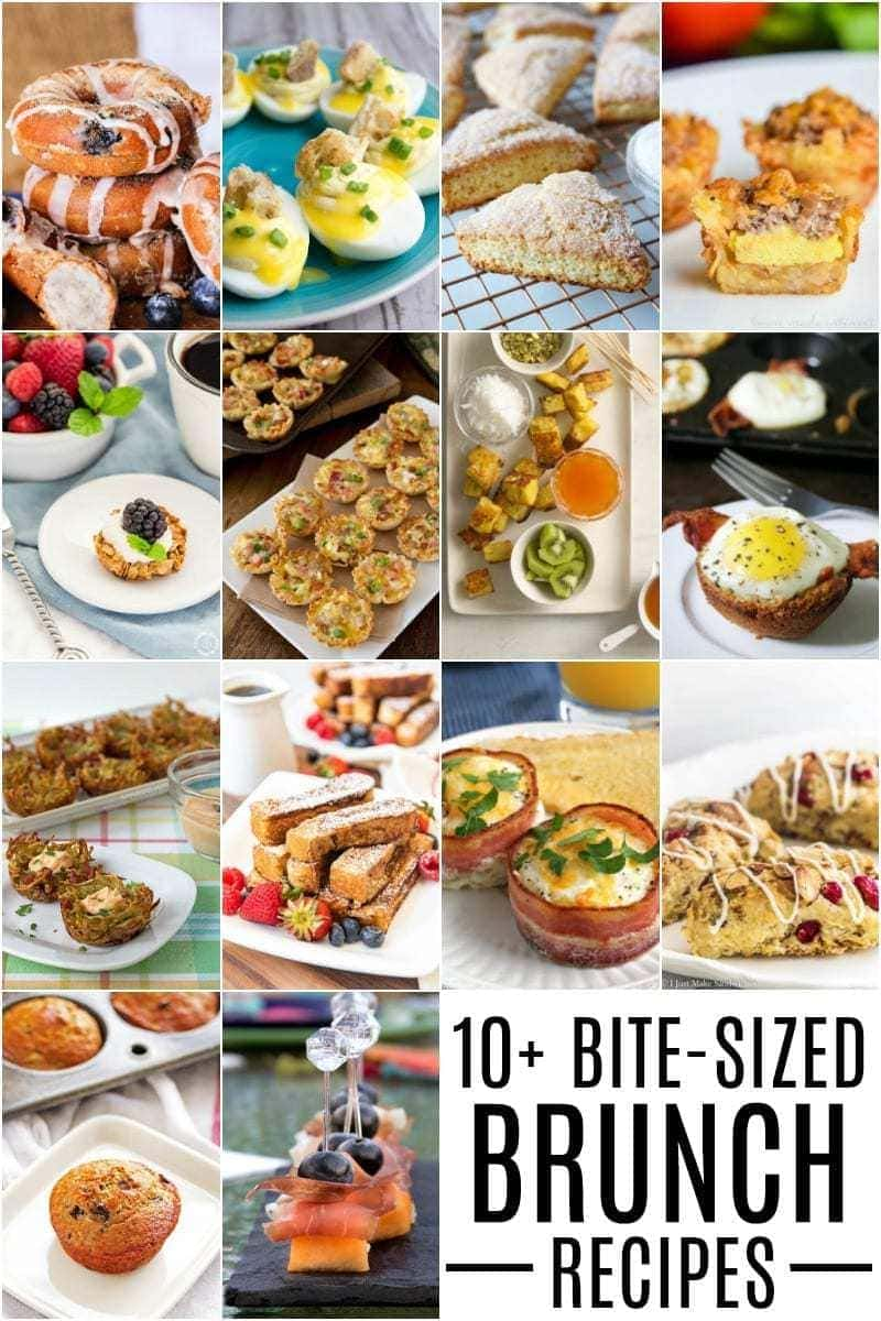 Bite Sized Brunch ideas