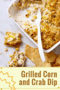 Grilled Corn and Crab Dip pin image