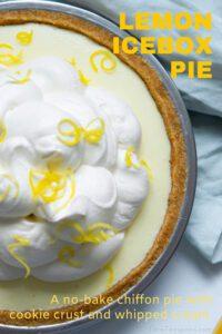 lemon icebox pie pin