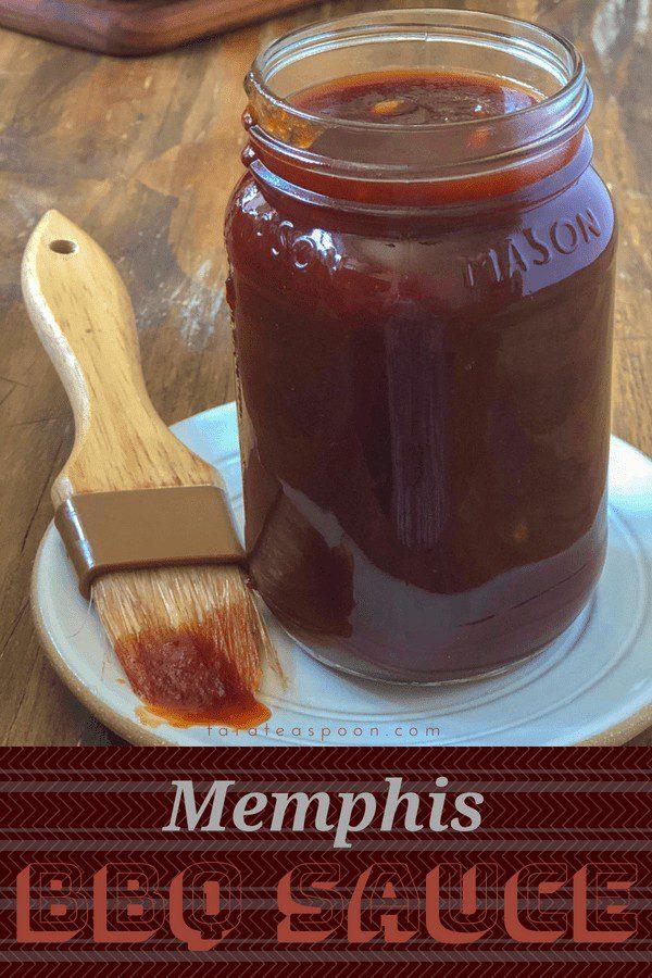 memphis bbq sauce pin image