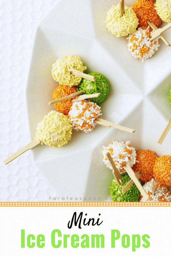 mini ice cream pops pin image