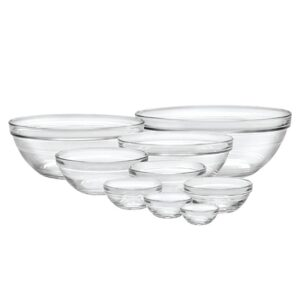 Stackable 9-Piece Bowl Set