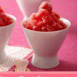 Tart cherry lime granita pin image