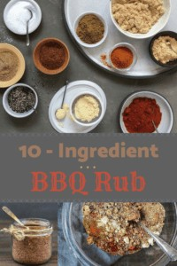 10 ingredient bbq rub pin image