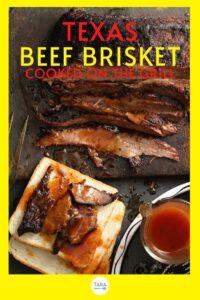 texas beef brisket recipe pin