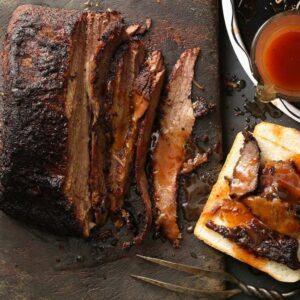 Texas beef brisket recipe image