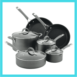 Circulon pots and pans used for blog giveaway