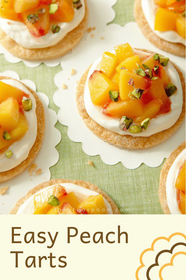 peach tarts pin image