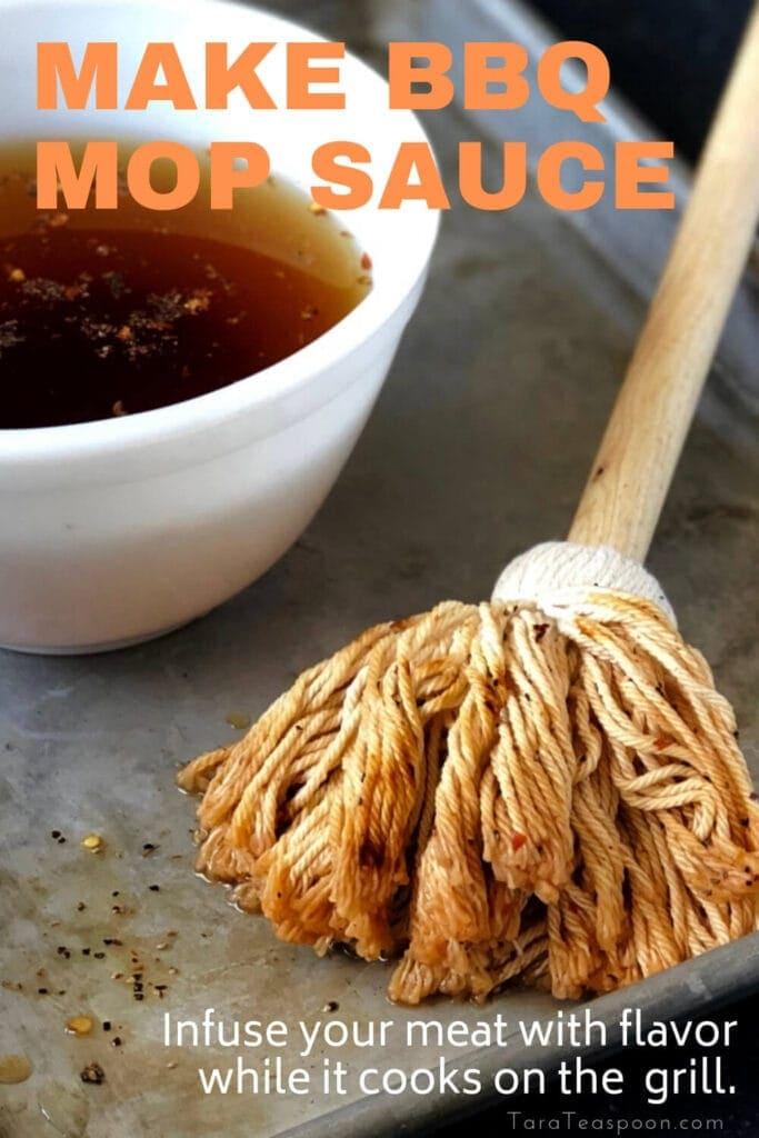Make BBQ Mop Sauce Pin