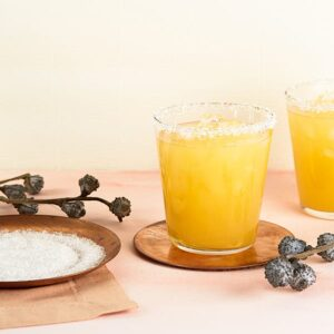 peach ginger fizz