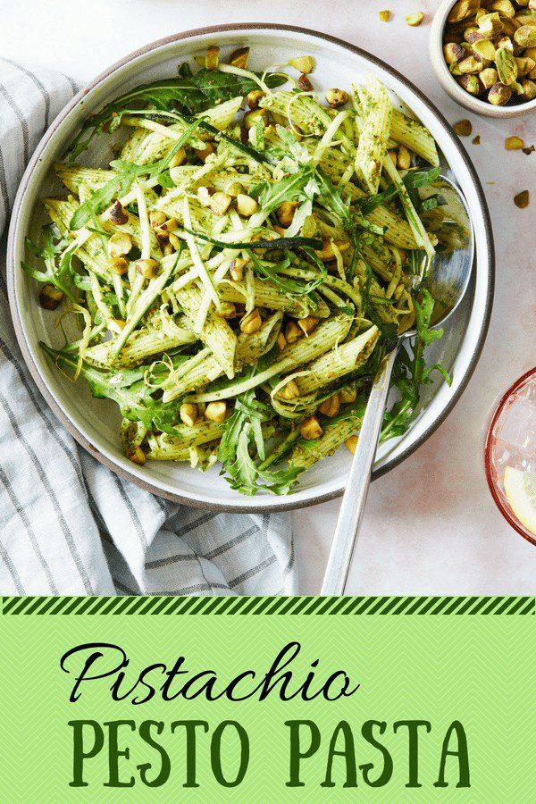 Pistachio Pesto Pasta pin