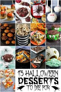 13 halloween desserts to die for pin