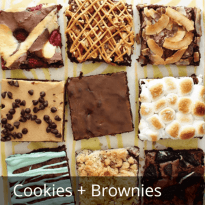 think outside of the box brownie variations