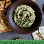 grilled zucchini baba ganoush pin