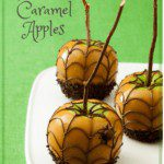 Halloween spiderweb caramel apples are easy to make for a party pin