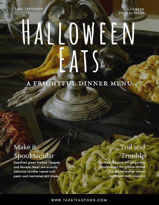 Halloween Eats E-Magazine