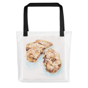 Shop Tara Teaspoon for this cookie bag with black handle