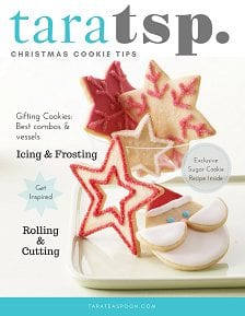 tara teaspoon christmas cookie booklet image