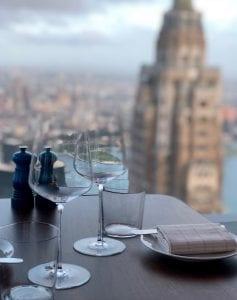View from Manhatta restaurant