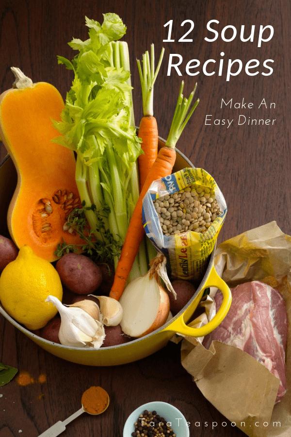 Easy Soup Recipes for dinner