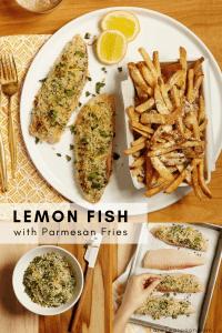 baked lemon fish pin