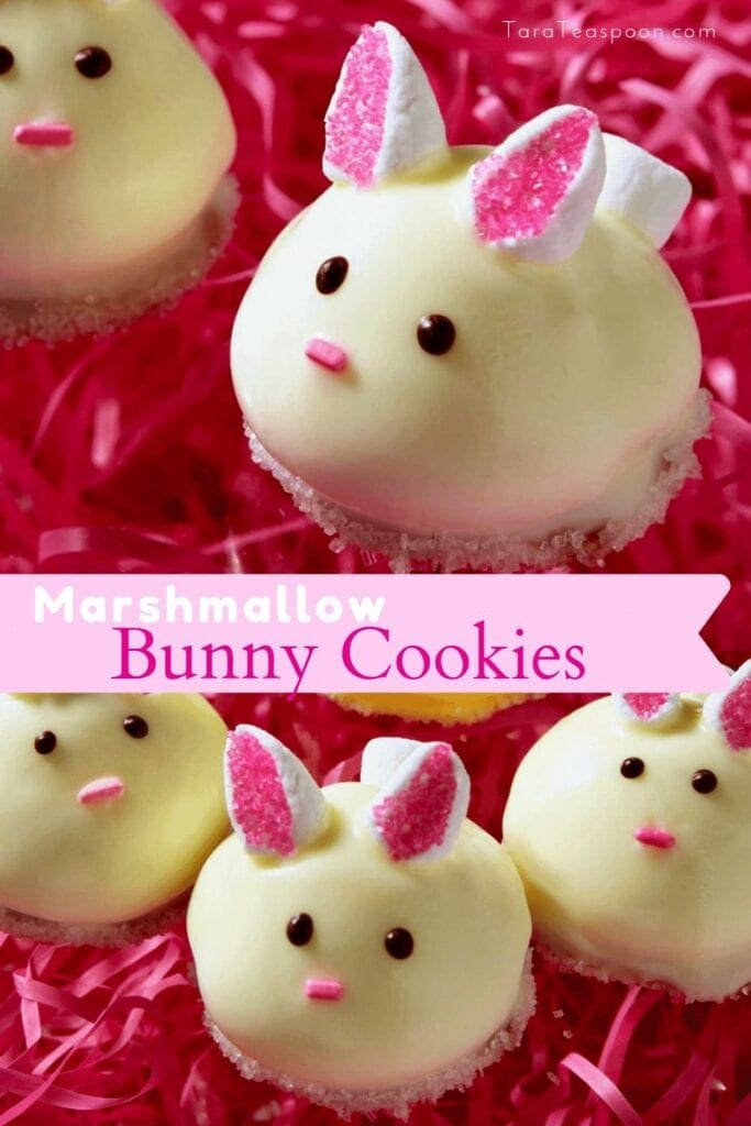 Baby Bunny Cookies for Easter Pin