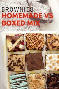 Brownie Mix debate pin