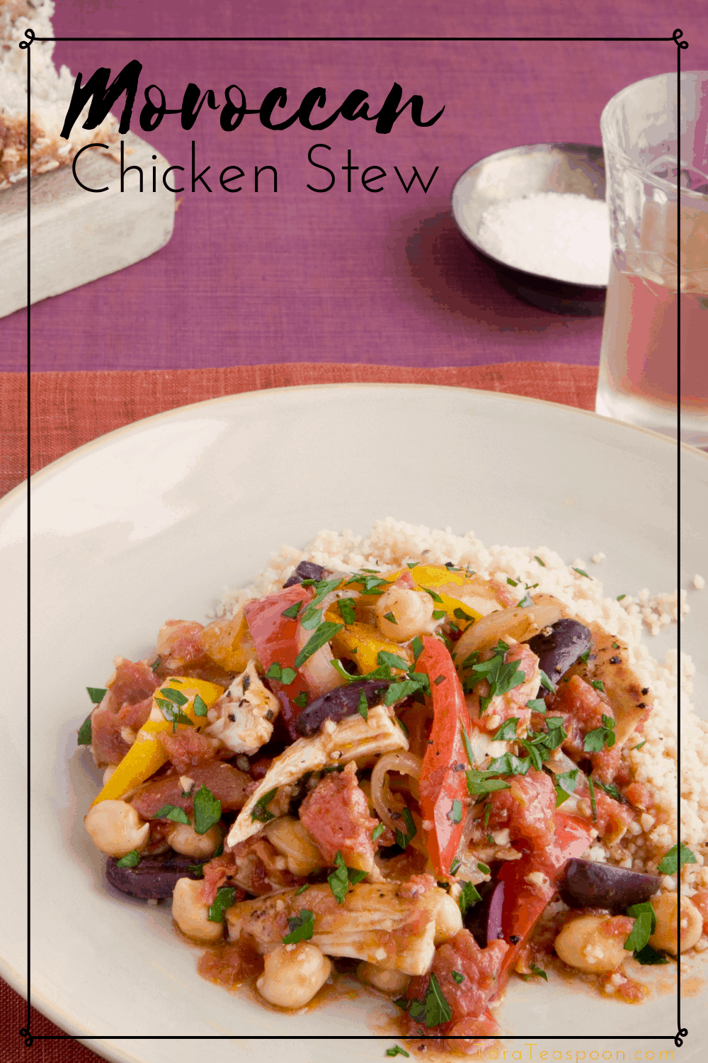 Moroccan Chicken Stew pin