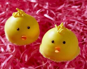 chick cookies for easter