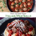 spaghetti and meatballs pin