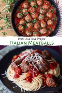 spaghetti and meatballs pin