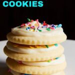 soft sugar cookies with sour cream pin